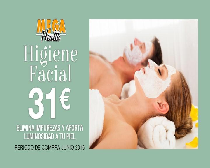 pantalla higiene facial