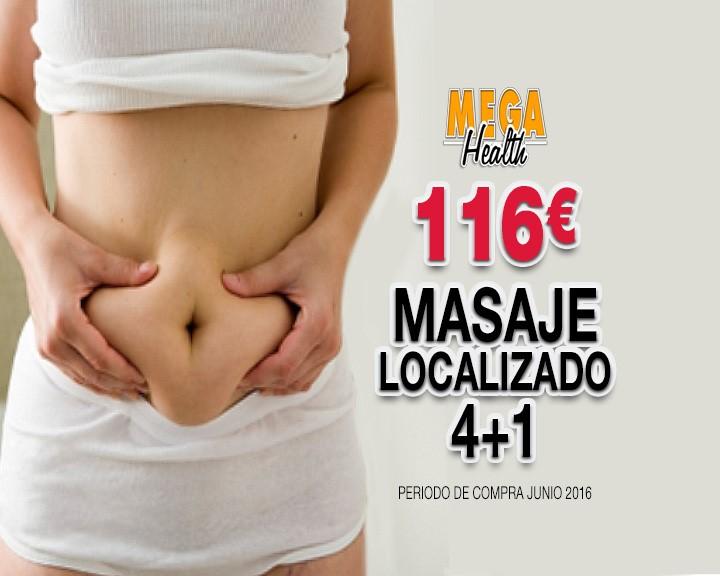 pantalla masaje localizado