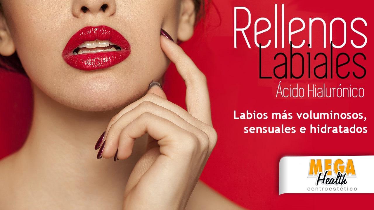 Rellenos labiales en Palma de Mallorca - Mega Health