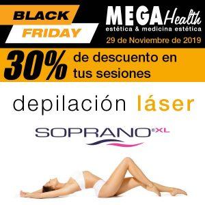 BLACK FRIDAY - Mega Health - Ofertas de depilación láser SOPRANO en Palma de Mallorca