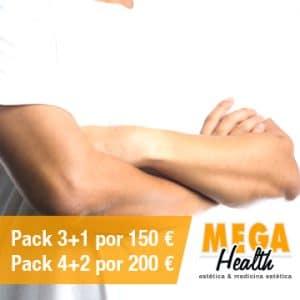 Depilación láser antebrazos - Mega Health, centro de depilación en Palma de Mallorca