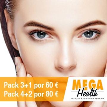 Depilación láser entrecejo - Mega Health, centro de depilación en Palma de Mallorca