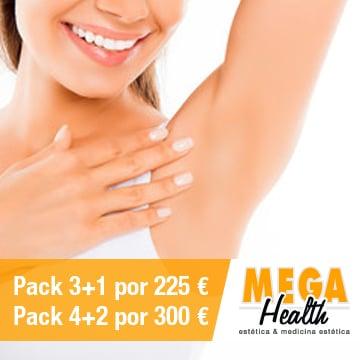 Depilación láser ingles y axilas - Mega Health, centro de depilación en Palma de Mallorca