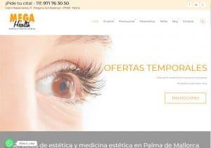 Nueva web de Mega Health