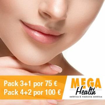 Depilación láser mentón, pómulos y labio superior - Mega Health, centro de depilación en Palma de Mallorca