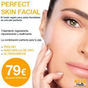 Mega Health - Perfect Skin Facial - Tratamiento regenerante, rejuvenecedor y reafirmante.