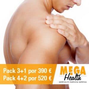 Depilación láser espalda y hombros - Mega Health, centro de depilación en Palma de Mallorca
