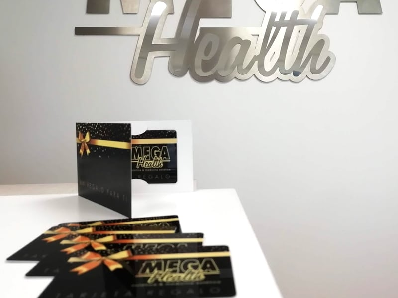 Nueva tarjeta regalo Mega Health