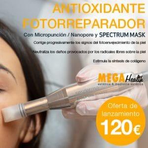 Mega Health - ANTIOXIDANTE FOTORREPARADOR - SPECTRUM MAKS y Nanopore
