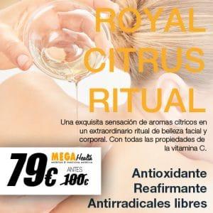 Mega Health - ROYAL CITRUS RITUAL - Antioxidante y reafirmante