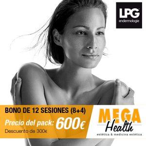 Bono de 12 sesiones LPG facial o corporal en Palma de Mallorca - Mega Health, centro estético especializado en LGP Endermologie en Mallorca