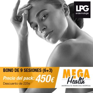 Bono de 9 sesiones LPG facial o corporal en Palma de Mallorca - Mega Health, centro estético especializado en LGP Endermologie en Mallorca