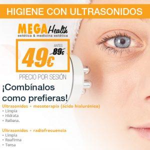 Higiene con Ultrasonidos en Mallorca - Mega Health centros de estética.