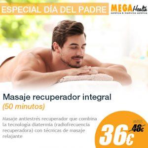 Masaje relajante - Día del padre - Mega Health, ofertas en masajes en Mallorca