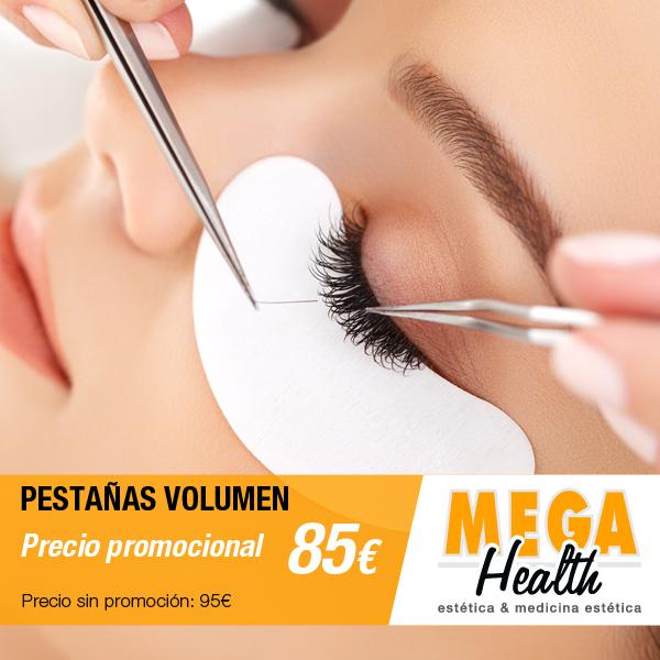 Oferta especial en extensiones de pestañas volumen en Palma de Mallorca - Mega Health