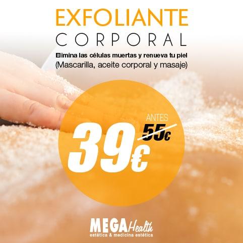 Mega Health | Ofertas de exfoliante corporal en Palma de Mallorca